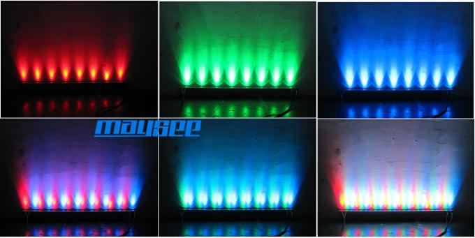 24VDC Ultra Slim LED Wall Washer Lights IP65 36W RGB color changing weight 1.9KG