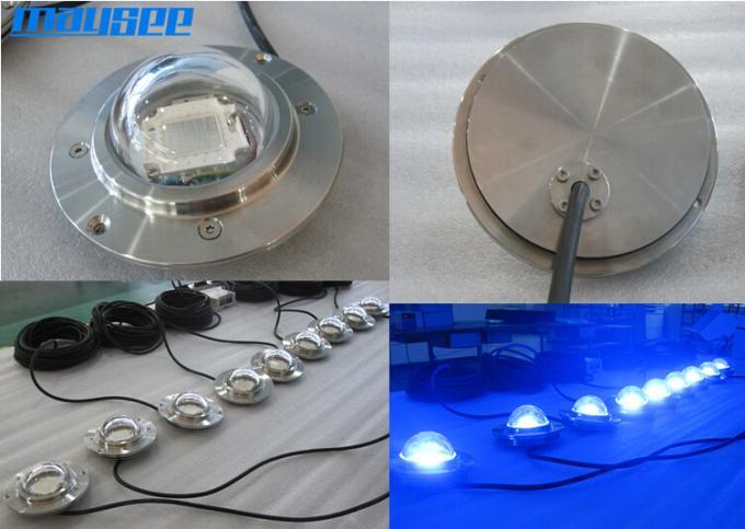 54w Cob Waterproof Submersible Led Pond Lights Underwater