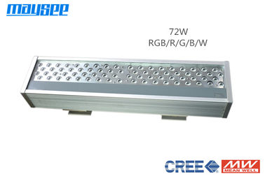 China 72 W Waterproof RGB LED Flood Light Outdoor IP65 with DMX / WIFI Controller factory