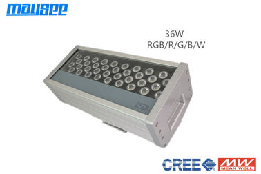 Energy Saving DMX RGB LED Flood Lights 36w For Outdoor Architecture Decoration