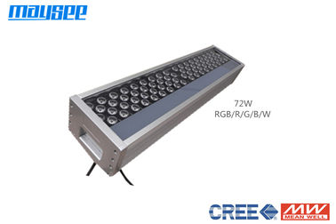 Surface Mounted RGB LED Flood Light , LED Colour Changing Flood Lights 72w