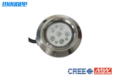 6x3w RGB Underwater LED Boat Lights with 316 Stainless Steel / DMX Controller