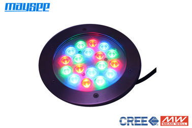 18x1w / 18x3w Stainless Steel DMX LED Swimming Pool Underwater Lights