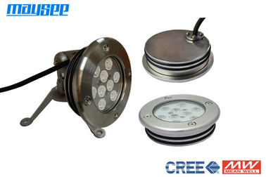 Multi Color Decorative 27w RGB Submersible LED Pool Light Anti Corrosion