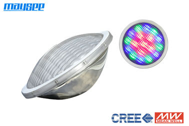 High Bright 316 Stainless Steel 25w RGB PAR56 LED Lamp For Swimming Pool