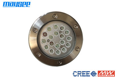 Waterproof Submersible Led Fountain Lights 316 Stainless Steel